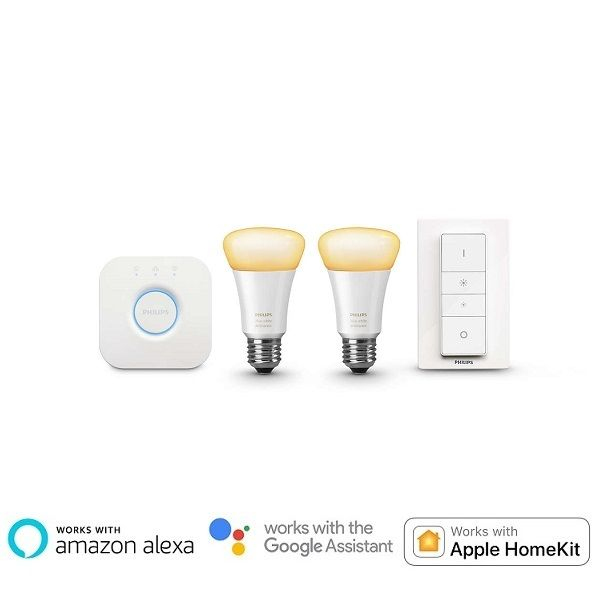 Philips Hue White Ambiance Starter Kit (9.5W A60 E27)