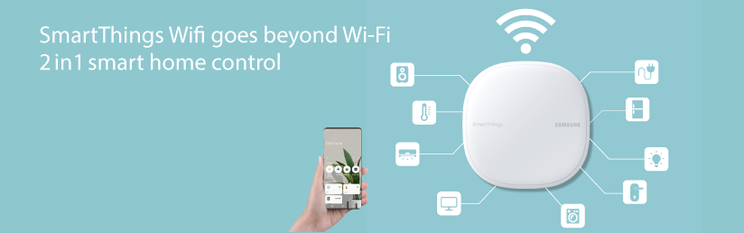 Samsung SmartThings Wifi Solution